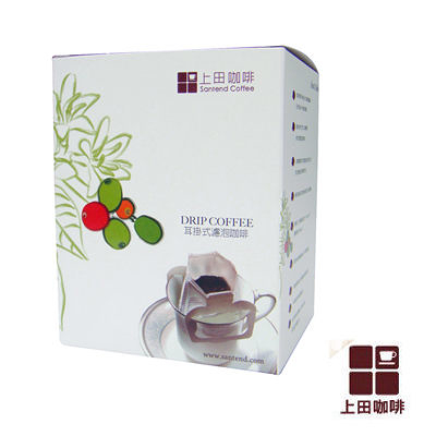 【上田】黃金曼特寧掛耳式咖啡10入/盒