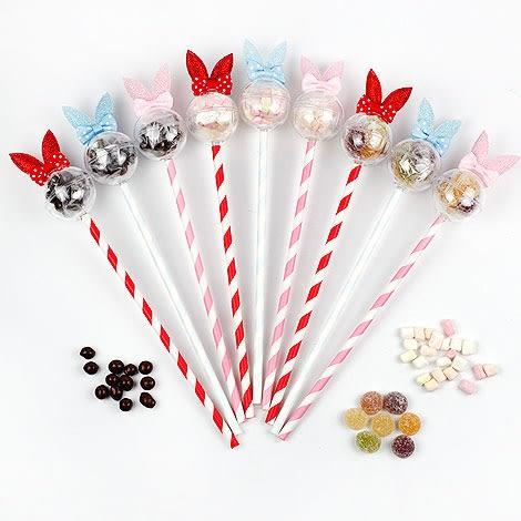 幸福婚禮小物❤甜心兔造型糖果棒❤巧克力/金莎/探房禮/送客禮/二次進場/活動小禮物