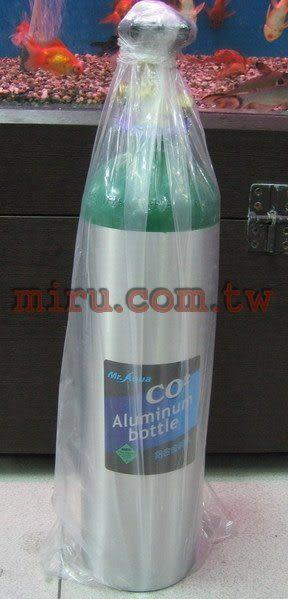 【西高地水族坊】水族先生Mr.Aqua 4.5kgCO2鋁合金鋼瓶(鋁瓶)(2.8L)(2007年出廠)