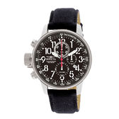 【INVICTA】小勞勃道尼系列 - 黑銀帆布皮錶帶