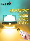 插電小夜燈遙控臥室床頭睡眠嬰兒寶寶哺乳喂奶用護眼夜光節能台燈  圖拉斯3C百貨