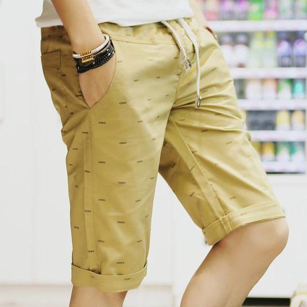 短褲男五分褲韓版休閒褲潮流薄款馬褲七分褲大褲衩男士七分褲   蓓娜衣都
