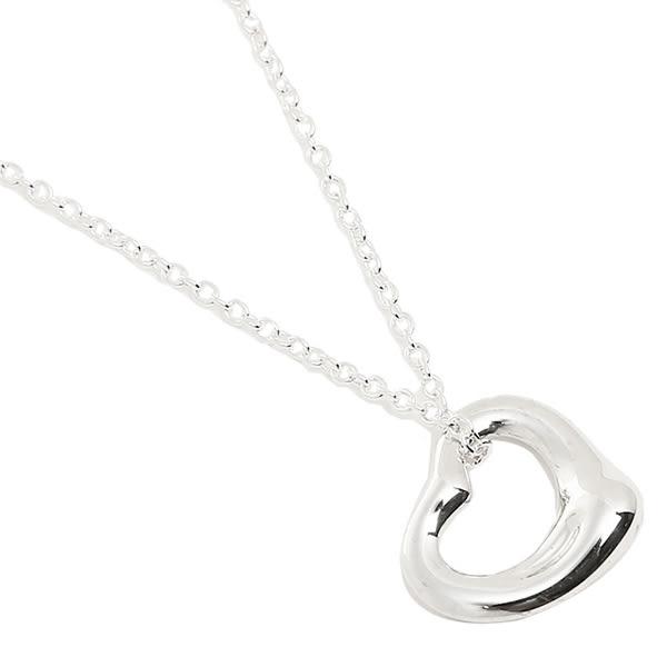 Tiffany & Co. Open Heart鏤空mini心形純銀項鍊