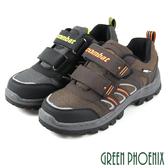N-10594 男款安全鋼頭工作鞋 運動鞋型沾黏式安全鋼頭工作鞋【GREEN PHOENIX】