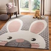 加厚床邊毯家用臥室臥室房間客廳地毯兒童房地墊【聚寶屋】