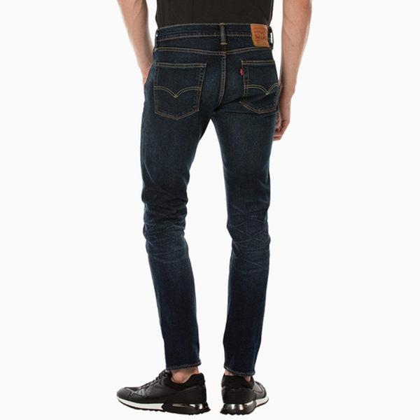 Levis 男款510™ 中腰緊身牛仔褲 / 彈性布料 / 深藍