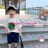 男童短袖t恤夏季韓版寶寶恐龍半袖上衣兒童體恤【桃可可服飾】