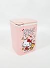 【震撼精品百貨】凱蒂貓_Hello Kitty~台灣授權 SANRIO三麗鷗 KITTY按壓式垃圾桶-粉#19243