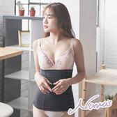 【露娜斯】獨家首推560丹加長型男女共用腰夾【黑/膚/灰】台灣製F9827