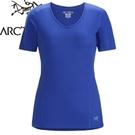 【ARC TERYX 始祖鳥 MOTUS CREW SS 女款短袖圓領 展望藍】 18808/短袖排汗衣/排汗衣/排汗T恤