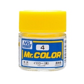 GSI 郡氏 MR.COLOR 組裝模型工具 004 黃色 光澤 硝基漆 油性顏料 TOYeGO 玩具e哥