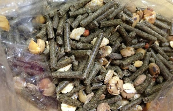 【西高地水族坊】AZOO 寵物兔營養主食3.6KG