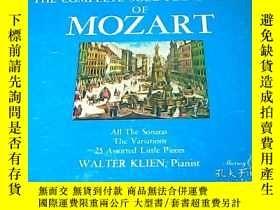 二手書博民逛書店RECORDS罕見MOZART PIANO MUSIC 莫扎特的