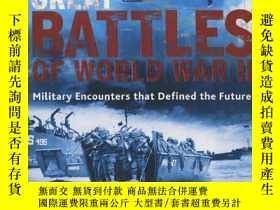 二手書博民逛書店Great罕見Battles of World War II 二