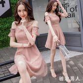 新款小禮服 時尚名媛仙女裙小心機亮片吊帶年會聚會派對裙宴會裙TA7774【極致男人】