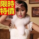 皮草毛領狐狸毛-典雅保暖優質圍巾10色63g18[巴黎精品]