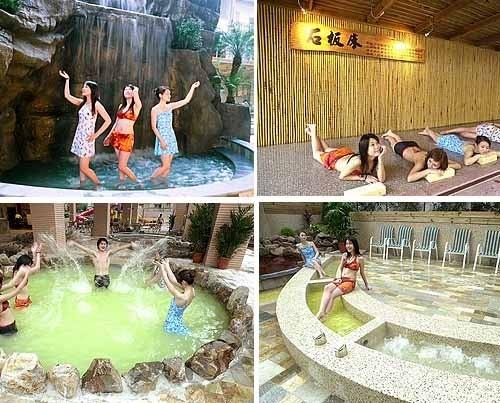 【寒暑假 - 泡湯戲水】川湯春天溫泉 (德陽館) - 大眾SPA湯 + 戲水區