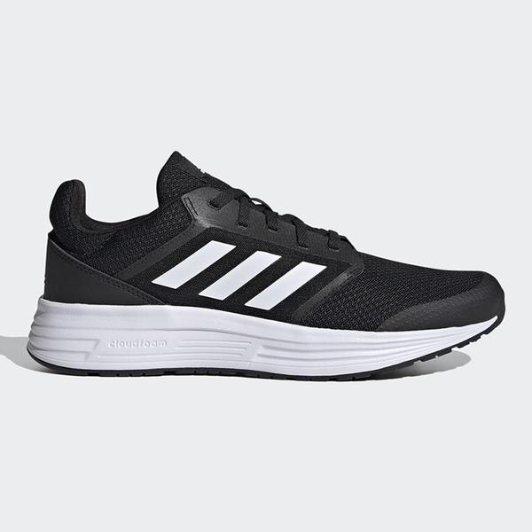 ADIDAS GALAXY 5 男鞋 慢跑 網布 支撐 緩衝 穩定 透氣 黑 白【運動世界】FW5717