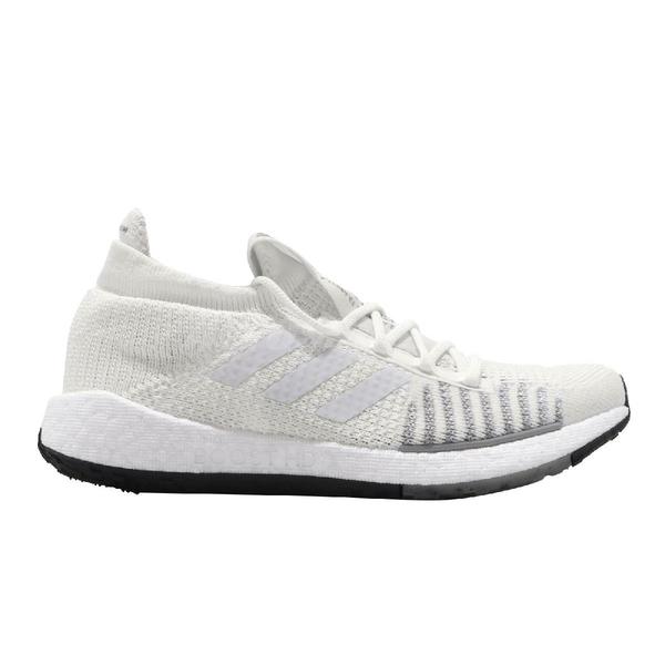 adidas 慢跑鞋 PulseBOOST HD W 白 灰 女鞋 運動鞋 【ACS】 EG1009