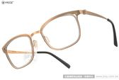 VYCOZ 光學眼鏡 DECK(I) GOL-GOLD (金) 薄鋼工藝 休閒簡約款 # 金橘眼鏡