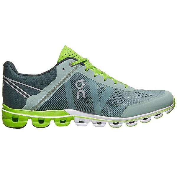 【瑞士 ON】男 Cloudflow流星雲 跑鞋『蘇打綠』15.99991 多功能鞋.野跑鞋 越野鞋 慢跑鞋 馬拉松
