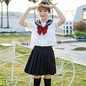 白黑三本JK制服裙基礎款正統水手服不良日系學院風套裝正版長短袖 SUPER SALE 快速出貨