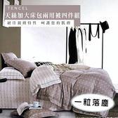 天絲/專櫃級100%.加大床包兩用被套組.一粒落塵/伊柔寢飾