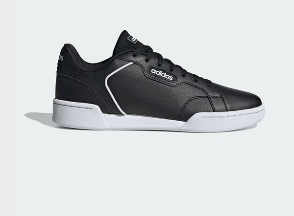 Adidas Roguera男款黑色皮革休閒鞋-NO.EH2265