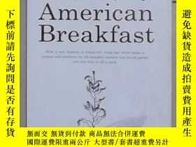 二手書博民逛書店英文原版罕見An American Breakfast by H
