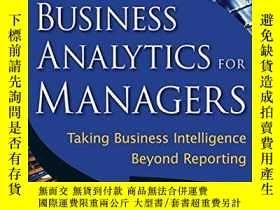 二手書博民逛書店Business罕見Analytics For Managers-經理業務分析Y436638 Gert H.
