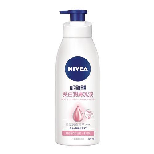 妮維雅Nivea嫩白潤膚乳液400ml【愛買】