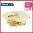 (特價出清) 韓國 KOMAX 輕透Tritan方形保鮮盒520ml 72522【AE02281】99愛買小舖