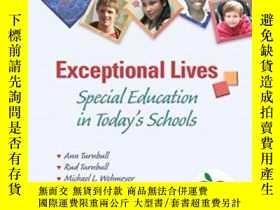 二手書博民逛書店Exceptional罕見Lives: Special Educ