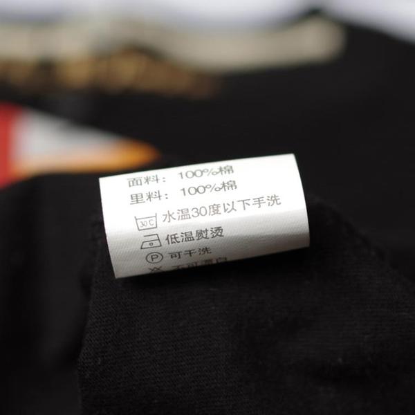 男裝夏季新款韓版潮流時尚修身型T恤創意卡通曾小賢財神純棉短袖