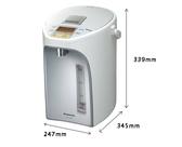 《Panasonic 國際牌》4公升真空斷熱 七段省電定時 熱水瓶 NC-BG4001