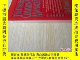 二手書博民逛書店英文原版罕見The First Book of Common-Sense ManagementY7215 Di