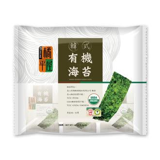 橘平屋 韓式有機海苔 5.2G*6包/袋