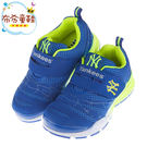 MLB美國職棒洋基隊藍色透氣運動鞋(18...