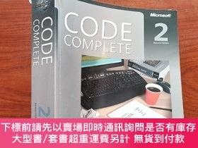 二手書博民逛書店Code罕見Complete:A Practical Handbook of Software Construct