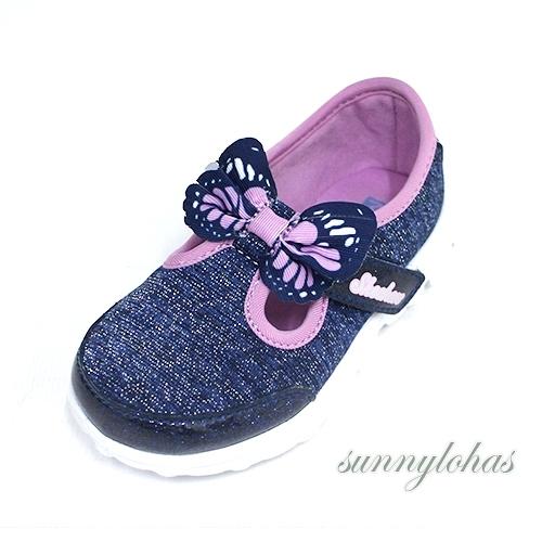 SKECHERS(童) GO WALK 兒童休閒鞋 娃娃鞋 瑪麗珍鞋-81175NNVMT 藍[陽光樂活]
