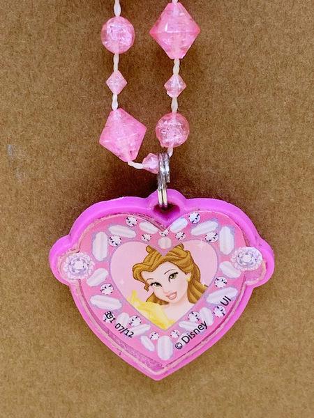 【震撼精品百貨】Disney 迪士尼公主系列~項鍊.貝兒68783