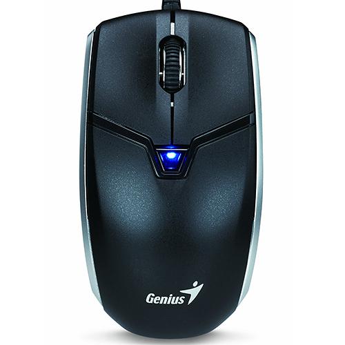 Genius 玩攝鼠 Cam Mouse 2合1 拍錄 藍光 滑鼠 黑色