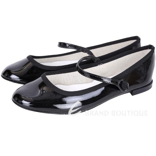 Repetto Lio Mary Jane 漆皮素面瑪麗珍鞋(黑色) 1541072-01