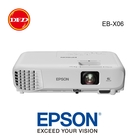 (送高級4K HDMI線) EPSON EB-X06 3,600流明 XGA 1024*768 公司貨