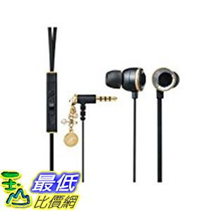 [7東京直購] ELECOM EAR DROPS Jewel 寶石耳機 EHP-CSG3520BK 入耳式 黑色