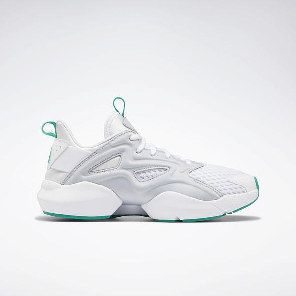 Reebok Sole Fury Adapt [DV8452] 女鞋 運動 慢跑 輕量 透氣 緩衝 穩定 白灰