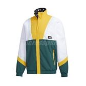 adidas 外套 UB JKT SILO 綠 黃 男款 雙面 立領外套 運動休閒 【ACS】 GM4444