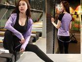 運動套裝  瑜伽服女健身房跑步服寬鬆速乾衣健身服運動套  瑪麗蘇
