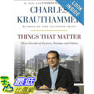 【103玉山網】 2014 美國銷書榜單 Things That Matter: Three Decades of Passions, Pastimes and Politics  $1088