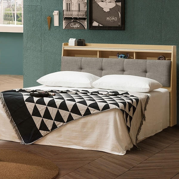 YoStyle 格蕾床台組-雙人5尺 雙人床 床組 房間組 專人配送